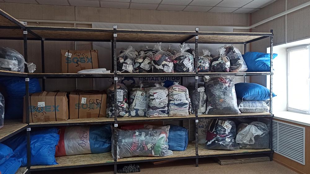 Склад стока ОПТОФ в Ульяновске
